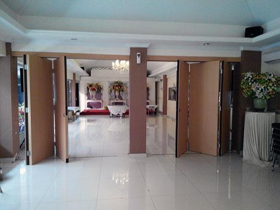 pintu partisi ruang lipat meeting - Pintu Partisi Geser Semarang | Harga Partisi Lipat | Harga Pintu Lipat | Jual Partisi Geser